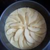 Bánh gato nhân táo