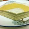 Trang trí xong hết, bạn bỏ bánh vào ngăn mát, nhớ lấy đồ đậy kín, để lớp bánh không bị khô cứng.