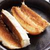Bánh mì kẹp đậu hũ chiên giòn