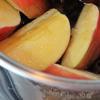 Canh táo nấu nấm