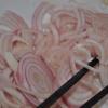 Gỏi hoa chuối trộn mực