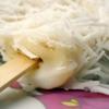Kem chuối phủ dừa