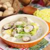 Múc hỗn hợp miến, thịt heo bằm ra tô, để hơi nguội và dùng ngay nhé! Món ăn đơn giản nhưng vẫn đảm bảo dinh dưỡng cho cả nhà.