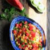 Salad dưa hấu trộn bắp