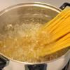 Spaghetti xào tôm