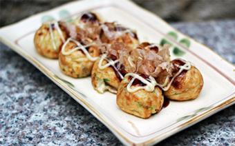 Bánh bạch tuộc nướng kiểu Nhật