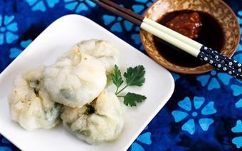 Bánh bao chiên kiểu Trung Quốc