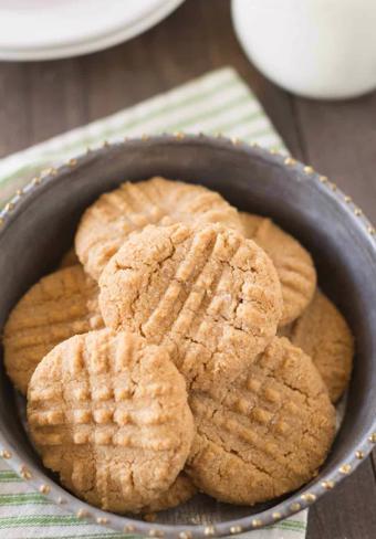 Bánh bơ đậu phộng nướng
