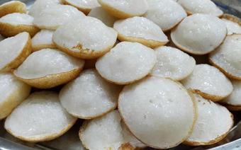 Bánh bò nước cốt dừa nướng chảo