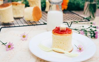 Bánh bông lan bằng chảo chống dính