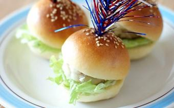 Bánh burger mini