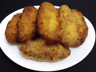 Bánh chuối chiên giòn béo