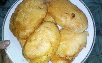 Bánh chuối chiên giòn