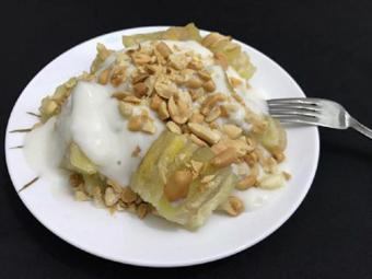 Bánh chuối hấp nước cốt dừa béo ngọt