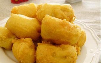 Bánh chuối tẩm bột chiên