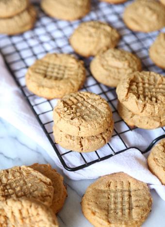 Bánh cookie bơ đậu phộng nướng