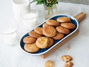 Bánh cookie bơ mè vỏ cam