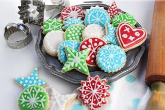 Bánh cookie đường Noel