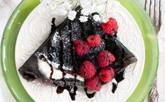Bánh crepe chocolate
