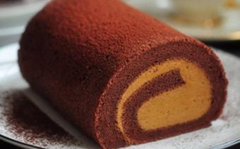 Bánh cuộn cacao