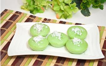 Bánh cupcake lá dứa