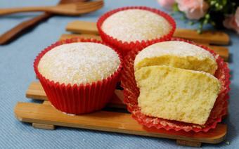 Bánh cupcake nướng đơn giản