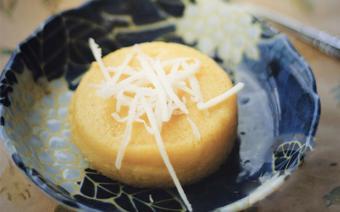 Bánh flan dừa trứng
