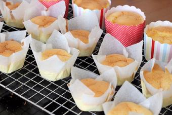 Bánh gateau Hồng Kông cup giấy