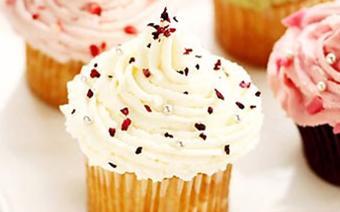 Bánh kem cupcake hình nón