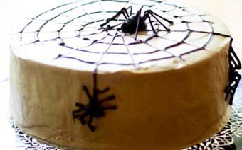 Bánh kem nhện bằng chocolate