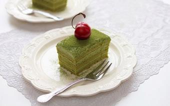 Bánh kem tươi trà xanh