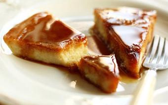 Bánh khoai lang sốt caramel
