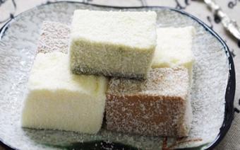 Bánh khúc bạch 3 màu