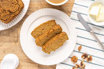 Bánh mì bí ngô vàng ươm
