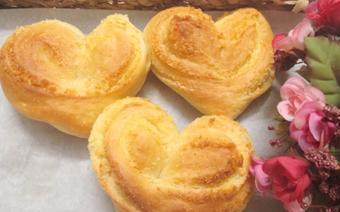 Bánh mì dừa hình trái tim