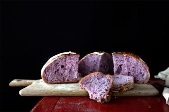 Bánh mì khoai tím