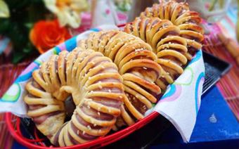 Bánh mì nhân khoai lang