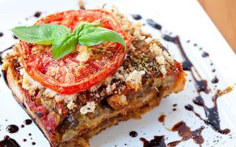 Bánh mì nướng kiểu lasagna