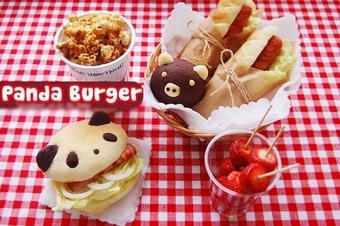 Bánh mì panda burger