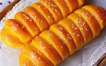 Bánh mì vị bí đỏ