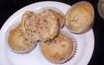 Bánh muffin bơ chuối