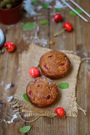 Bánh muffin cherry siêu ngon