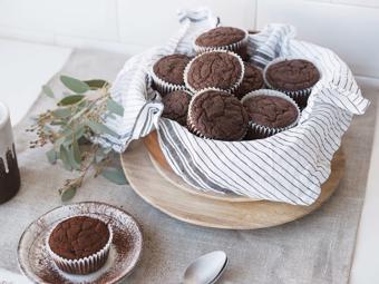 Bánh muffin chocolate ăn kiêng