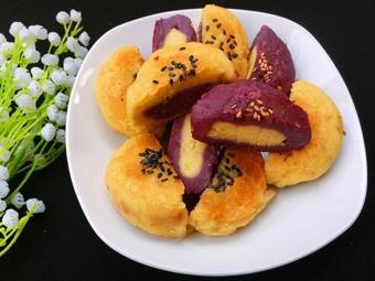 Bánh nếp khoai lang chiên