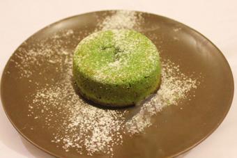 Bánh núi lửa trà xanh - Molten Lave Cake