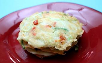 Bánh pancake thanh cua