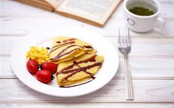 Bánh pancake vị bắp