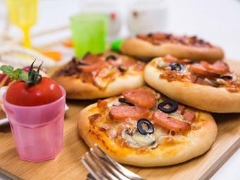 Bánh Pizza mini đơn giản