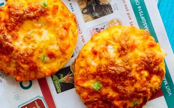 Bánh pizza mini que kem