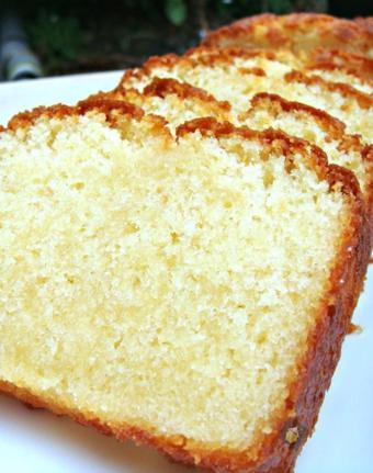 Bánh pound cake vani